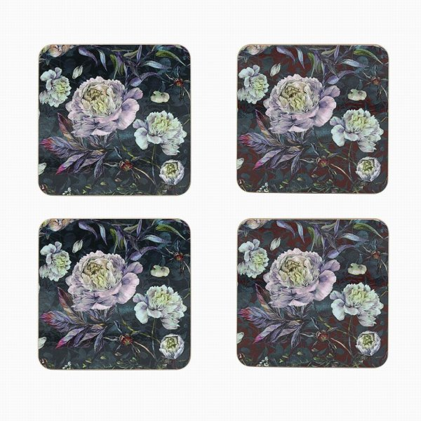 CHRYSANTHEMUM COASTERS S4