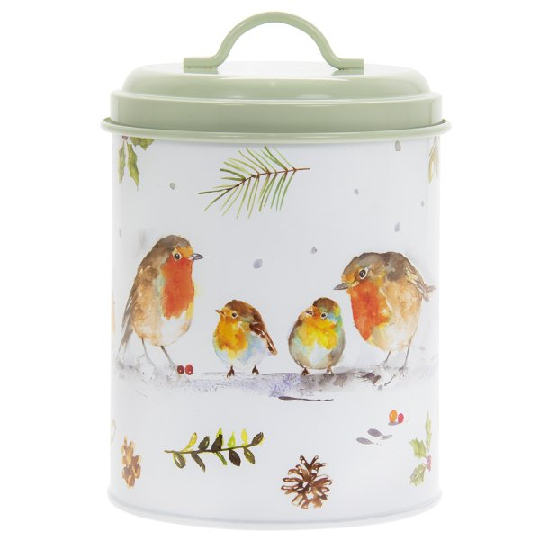 WINTER ROBINS CANISTER MED