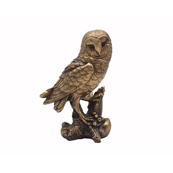 REFLECTIONS BRONZED OWL 7""