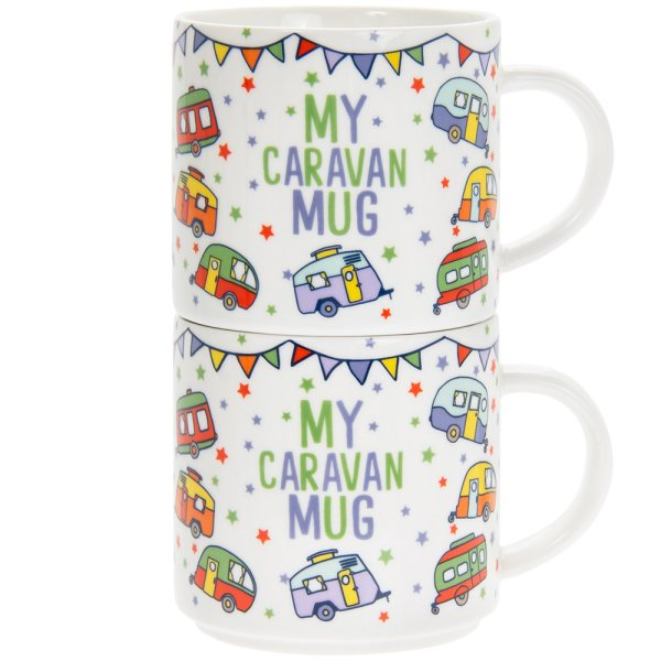 MY CARAVAN STACKING MUGS