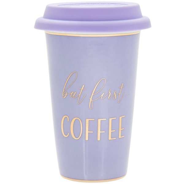 LETS PARTY COFFEE TRAVEL MUG
