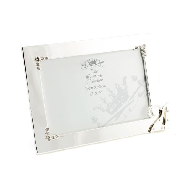 SILVER PLATED FRAME 21ST