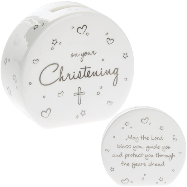 CHRISTENING MONEY BOX