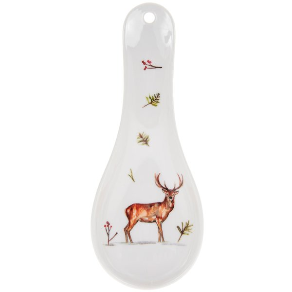 WINTER STAGS SPOON REST