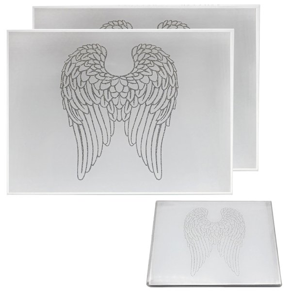 ANGEL WINGS PLACEMATS SET OF 2