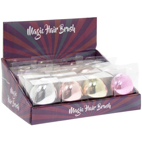 MAGIC HAIR BRUSH 4 ASST