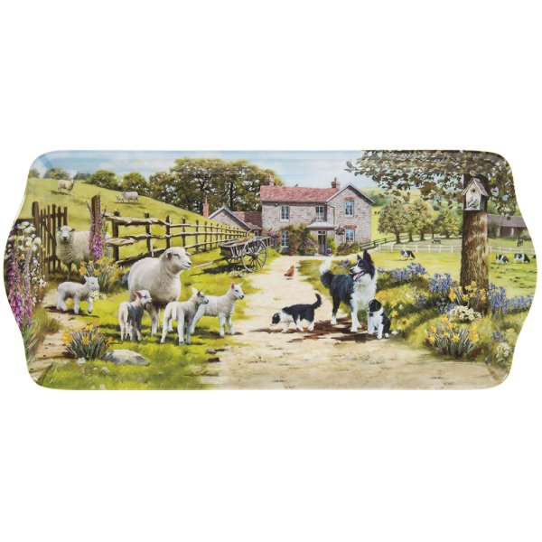 COLLIE & SHEEP TRAY MED