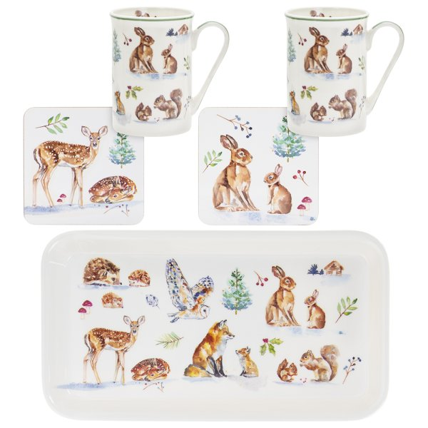 WINTER FOREST GIFT SET 5 PC