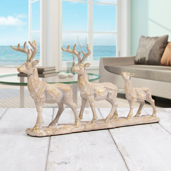 FAMILY OF 3 STAGS