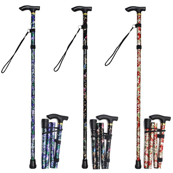 FOLDING WALKING STICK FLOR 3AS