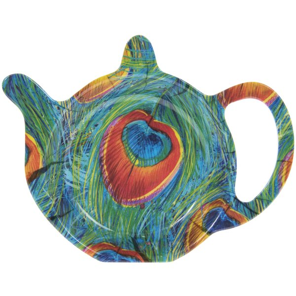 PEACOCK TEABAG TIDY