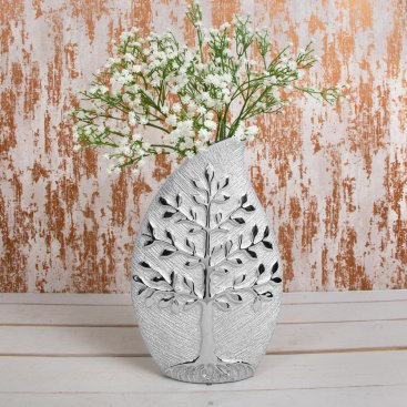 SILVER ART VASES & ORNAMENTS
