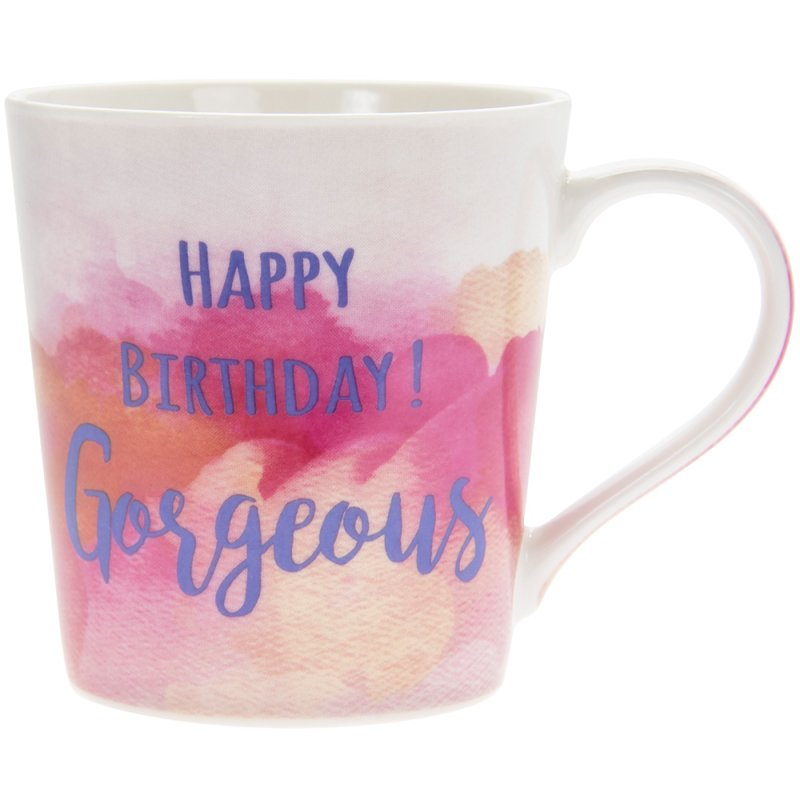 WATERCOLOUR HAPPYBIRTHDAY MUG