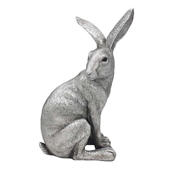 SILVER HARE SITTING