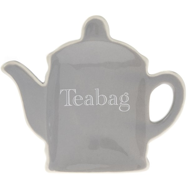 GREY CLASSIC TEABAG TIDY