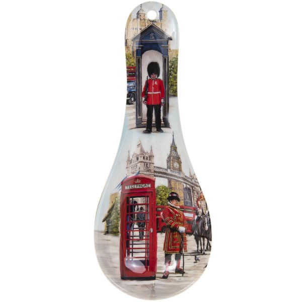 LONDON COLLAGE SPOON REST