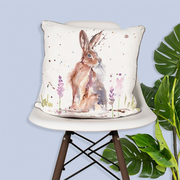 COUNTRY LIFE HARE CUSHION