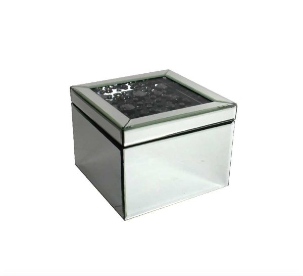 SMOKE CRYSTAL JEWELLERY BOX