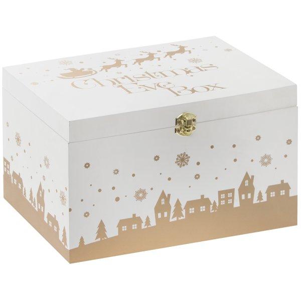 XMAS EVE BOX GOLDEN DEER