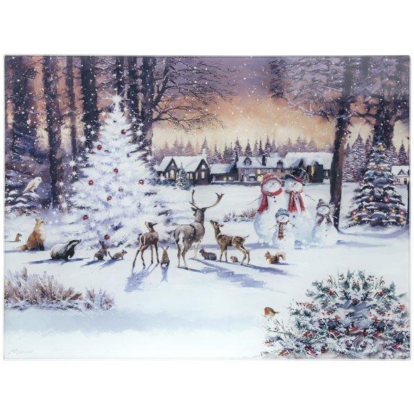 MAGIC CHRISTMAS CUT BOARD LGE