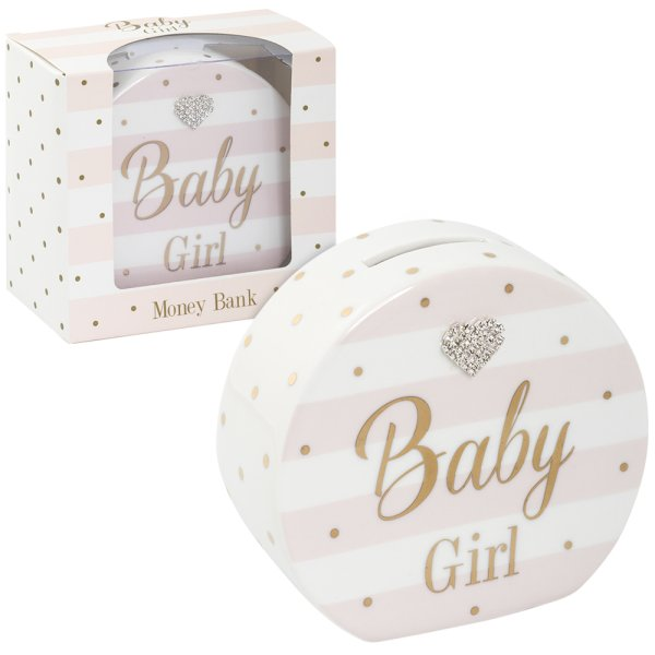 MAD DOTS BABY GIRL MONEY BANK
