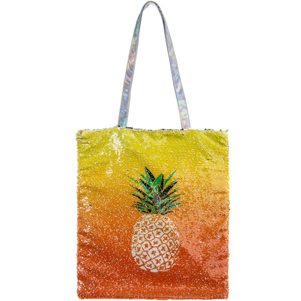 PINEAPPLE SEQUIN BAG