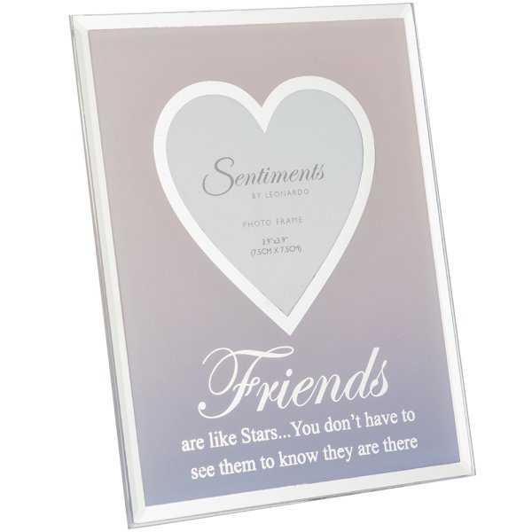 "SENTIMENTS FRAME FRIEND 3""X3"""