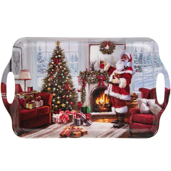 CHRISTMAS SANTA TRAY LARGE