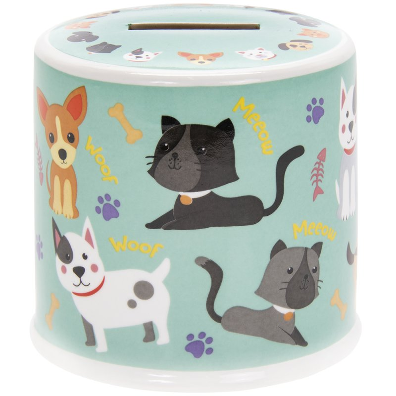 CATS & DOGS MONEY BOX