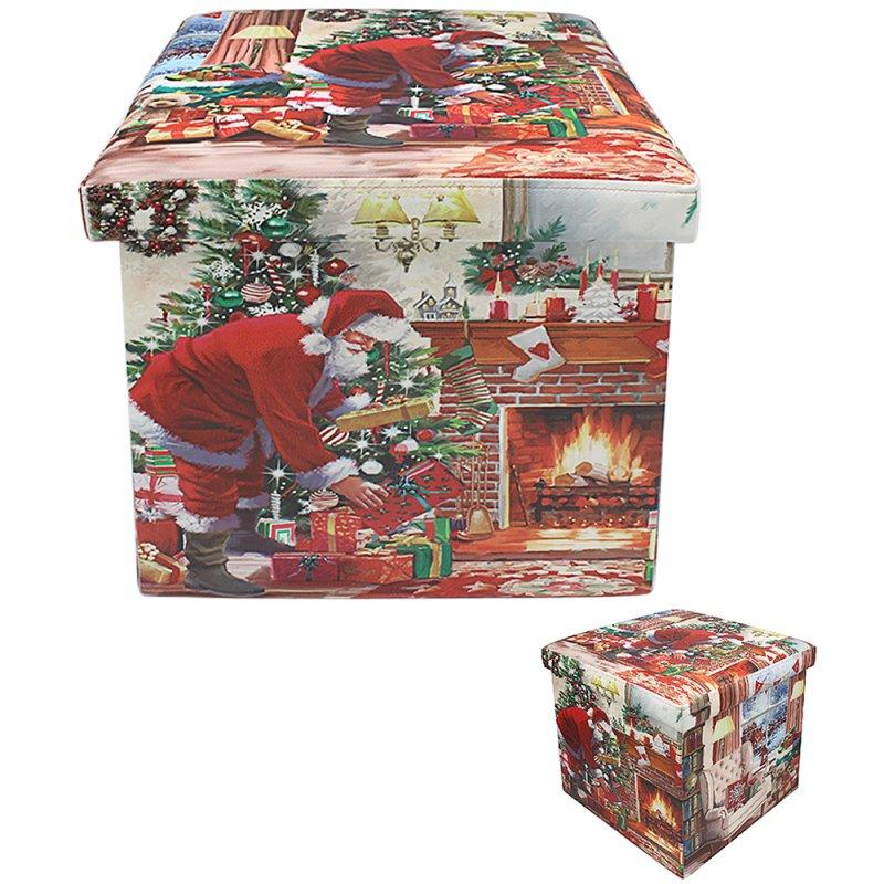 SANTA FOLDING STORAGE BOX