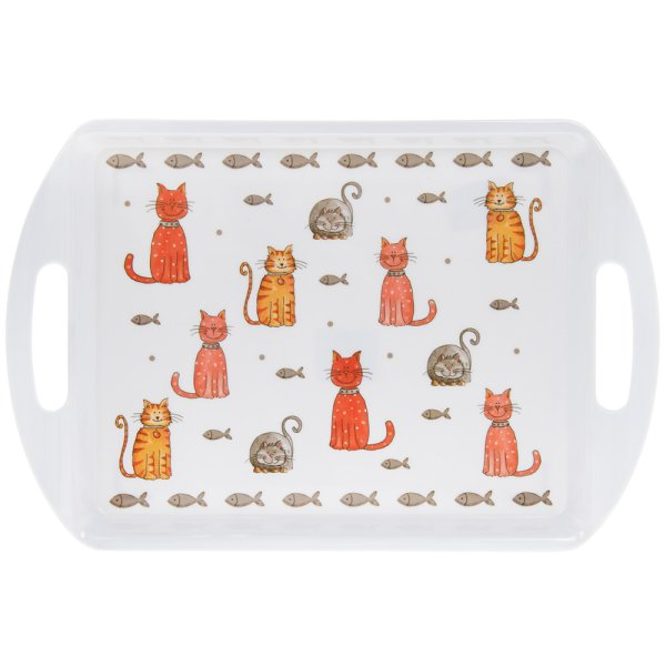 FAITHFUL FRIENDS CAT TRAY MED