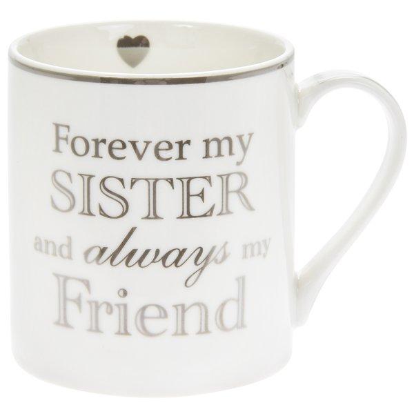 FOREVER MY SISTER MUG