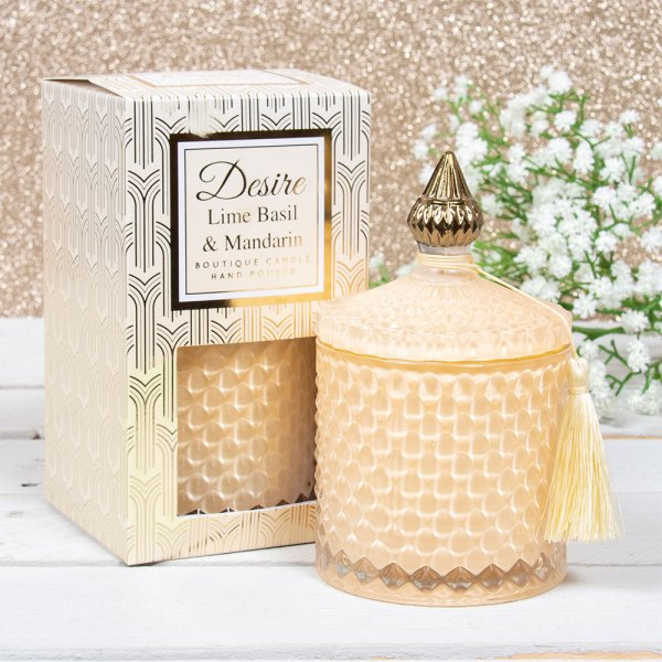 DESIRE SOY CANDLE LIME&BASIL