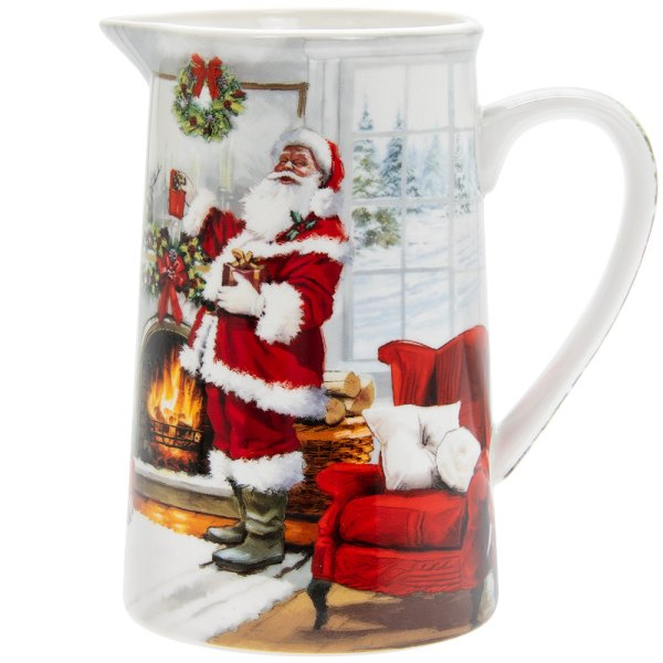 CHRISTMAS SANTA JUG MEDIUM