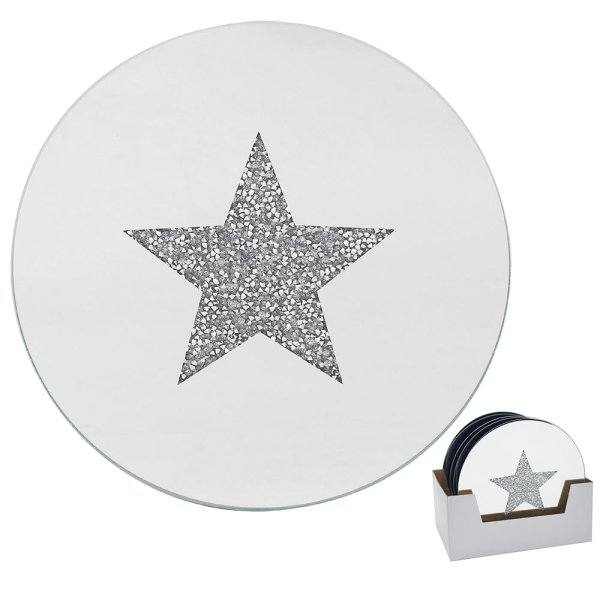 STAR CANDLE PLATE 20CM