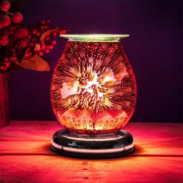 AROMA LAMP DEER RED