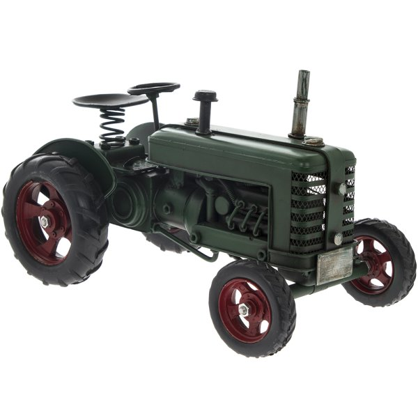 VINTAGE TRACTOR GREEN