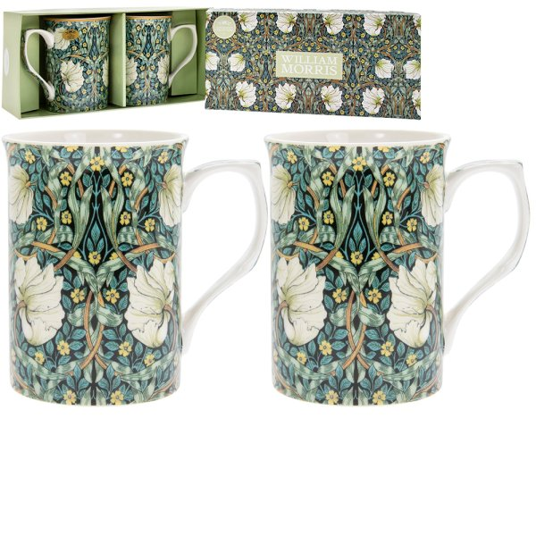 PIMPERNEL MUGS SET OF 2