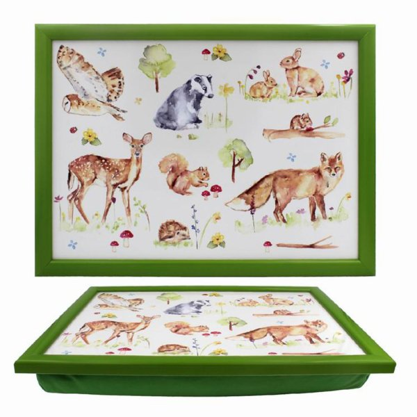 WOODLAND WILDLIFE LAPTRAY