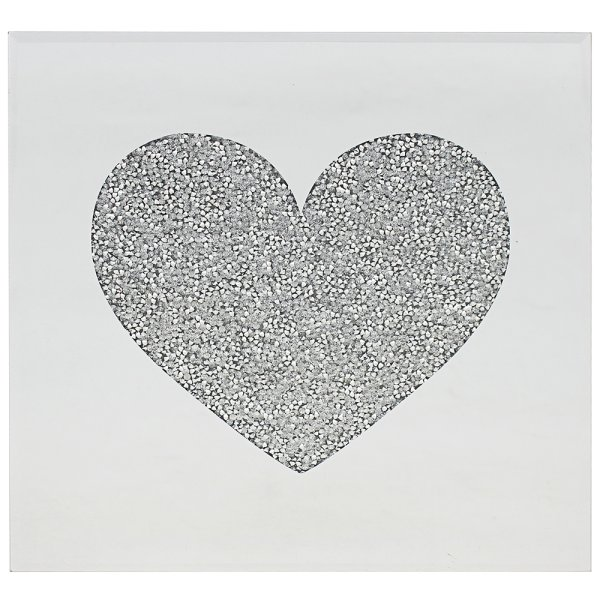 CRYSTAL HEART PLACEMATS 2S