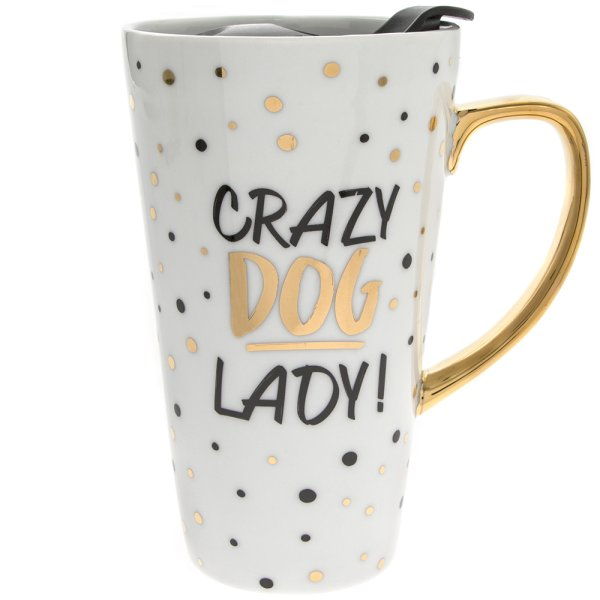 DOG GOLD LATTE MUG
