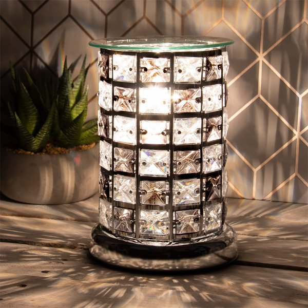 DESIRE AROMA LAMP BLACK/CLEAR