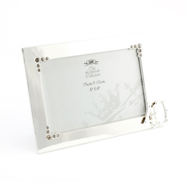 SILVER PLATED FRAME 40TH