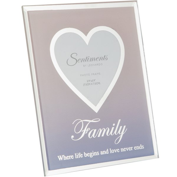 "SENTIMENTS FRAME FAMILY 3""X3"""