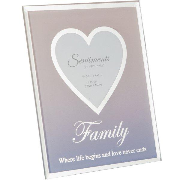 """SENTIMENTS FRAME FAMILY 3""""X3"""""""