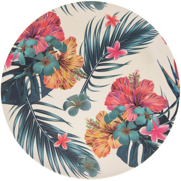 BAMBOO ECO TROPICAL PLATE