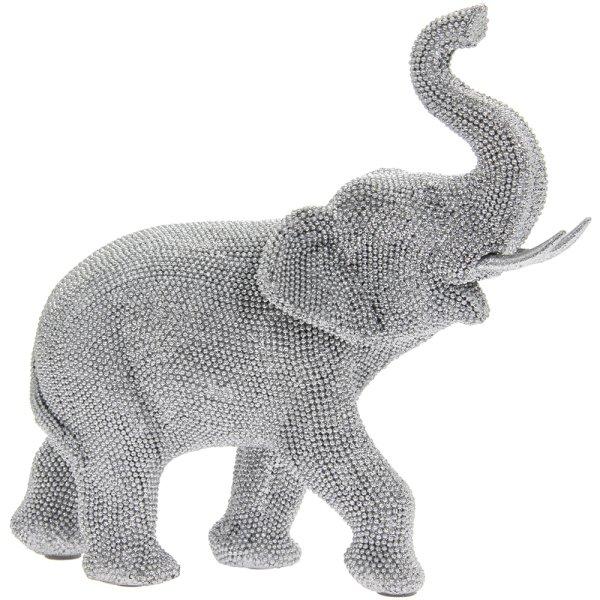 SILVER ART ELEPHANT