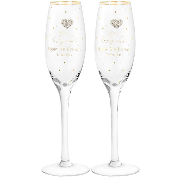 MAD DOTS ANNIVERSARY FLUTES