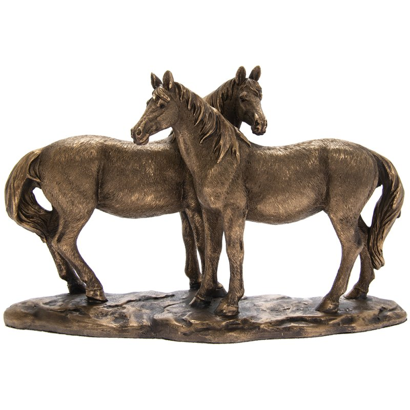 REFLECTIONS BRONZED HORSES