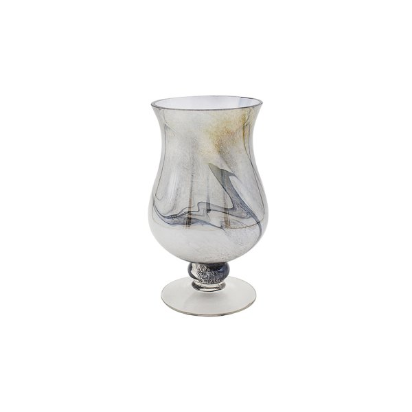 VINCENZA C HOLDER MARBLE 25CM